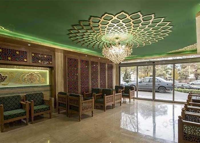 ورودی هتل زنده رود اصفهان