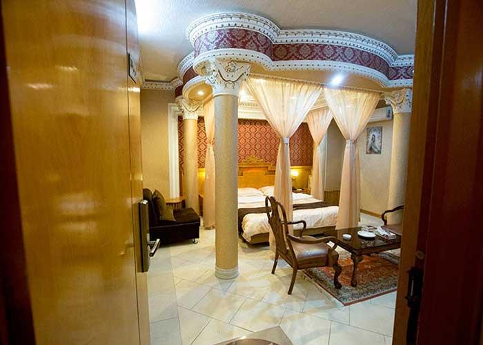 تصاویر اتاق ماه عسل هتل زهره اصفهان