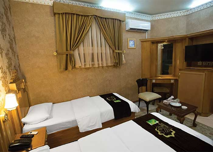 دو تخته توئین هتل زهره اصفهان