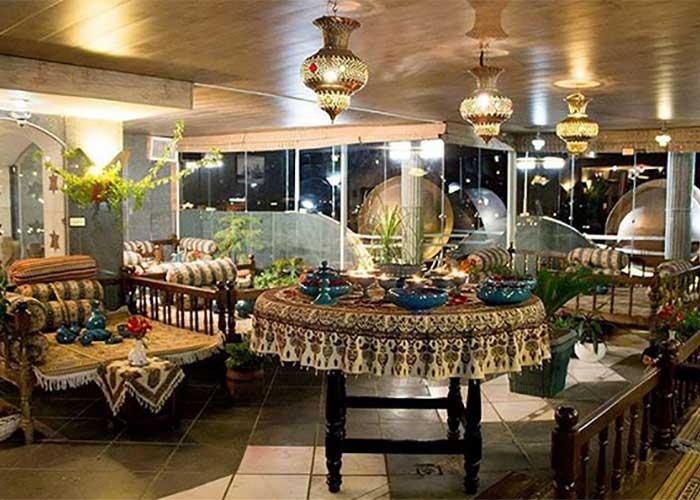 رستوران  سنتی ایرانا هتل زهره