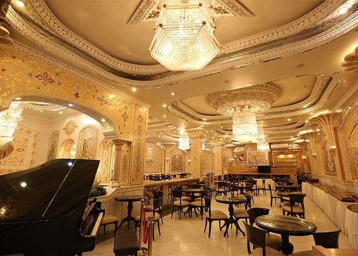 کافه نادری هتل زهره