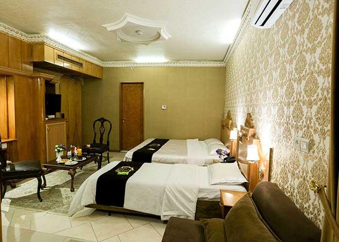 اتاق سه تخته هتل زهره اصفهان