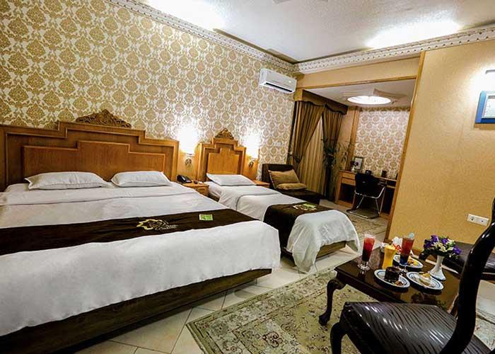 سه تخته هتل زهره اصفهان