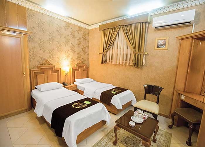 اتاق دو تخته توئین هتل زهره اصفهان