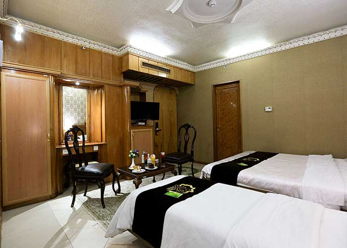 سه تخته هتل زهره
