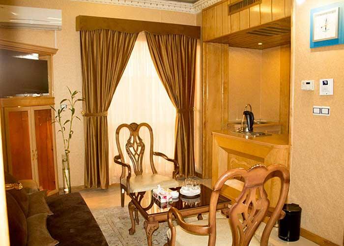 آشپزخانه سوئیت هتل زهره اصفهان