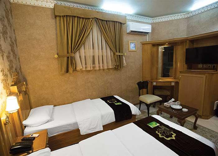 اتاق های هتل زهره اصفهان