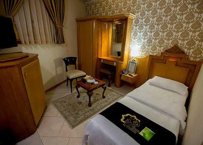 اتاق یک تخته هتل زهره اصهفان
