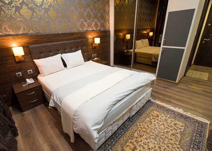 دو تخته دبل هتل ارگ محتشم قمصر