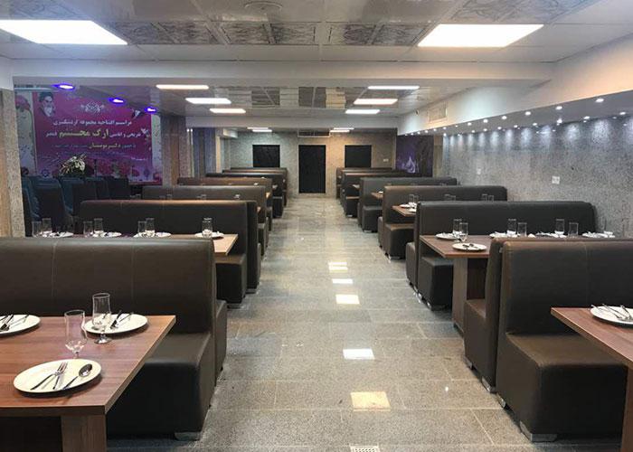 رستوران هتل ارگ محتشم قمصر