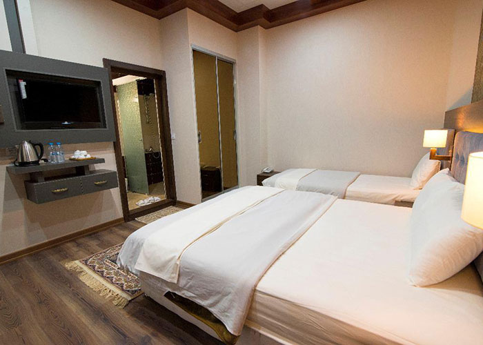 سه تخته هتل ارگ محتشم قمصر