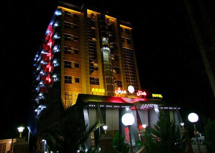 هتل عرش نوشهر