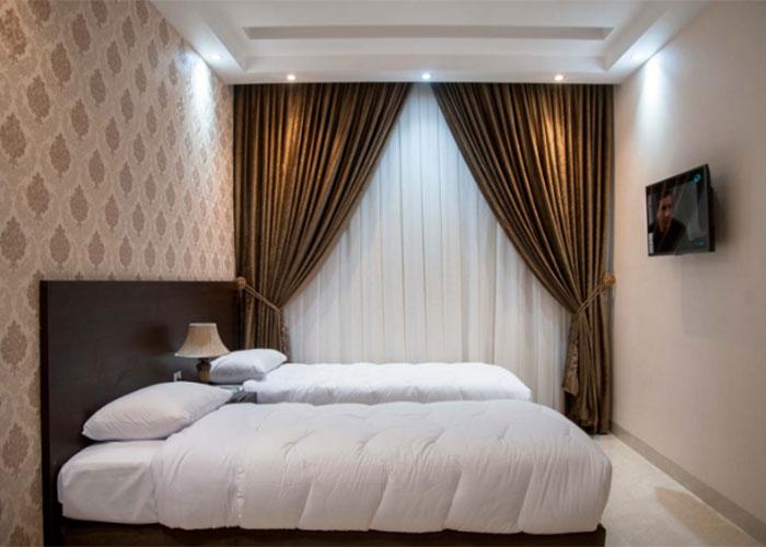 هتل آپارتمان بین المللی جمیل قم