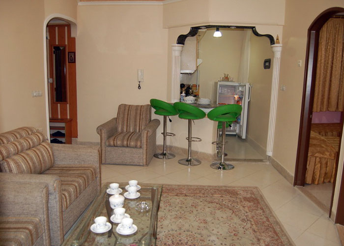 هتل آپارتمان میزبان مشهد