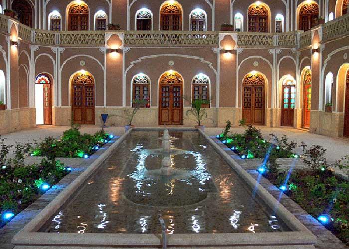 تصاویر کاروان سرای مشیر یزد
